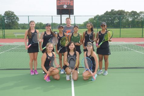 Girls Tennis Sets the Bar High