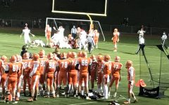 Cherokee's Football Team Playing Against Lenape's Football Team on the Cherokee Turf