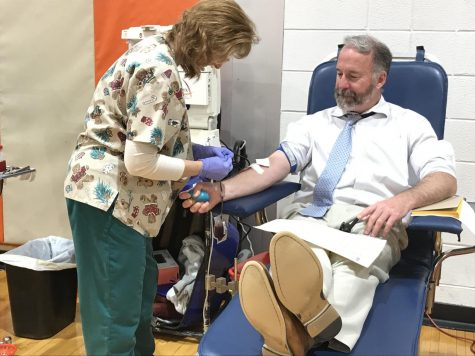 Cherokee Students, Staff Help Save Lives At Blood Drive