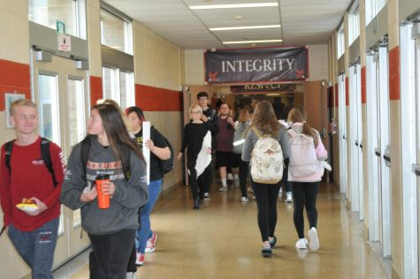 Spirit Week Brings Competition Among Students