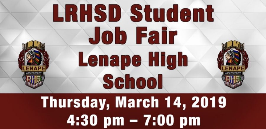 Promotional Poster for the Student Job Fair
