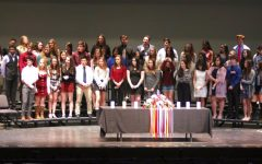 A Night of Honor at Cherokee's Language Honor Society Induction