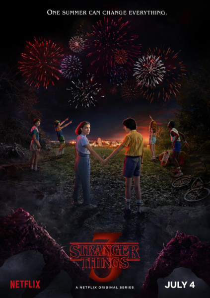 Stranger Things Season Three Poster