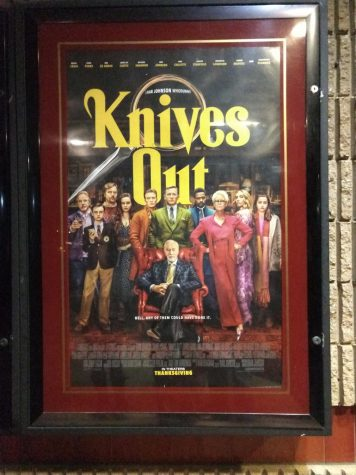Knives Out Poster at AMC Marlton 8