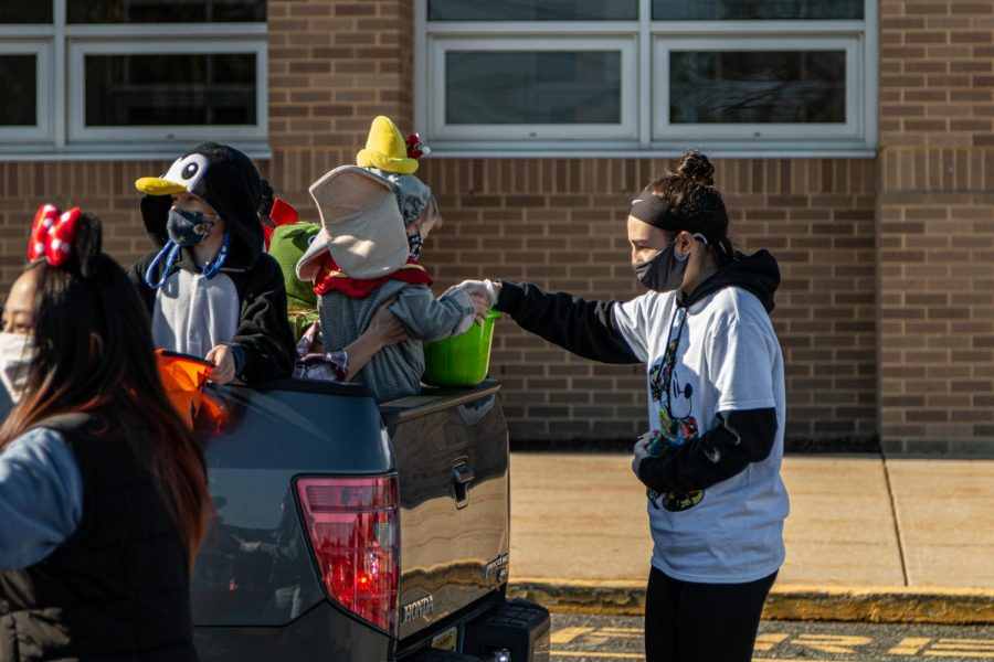 The Trunk or Treat is an annual event at Cherokee which clubs participate in. This year, new precautions were put in place so this event could happen safely.