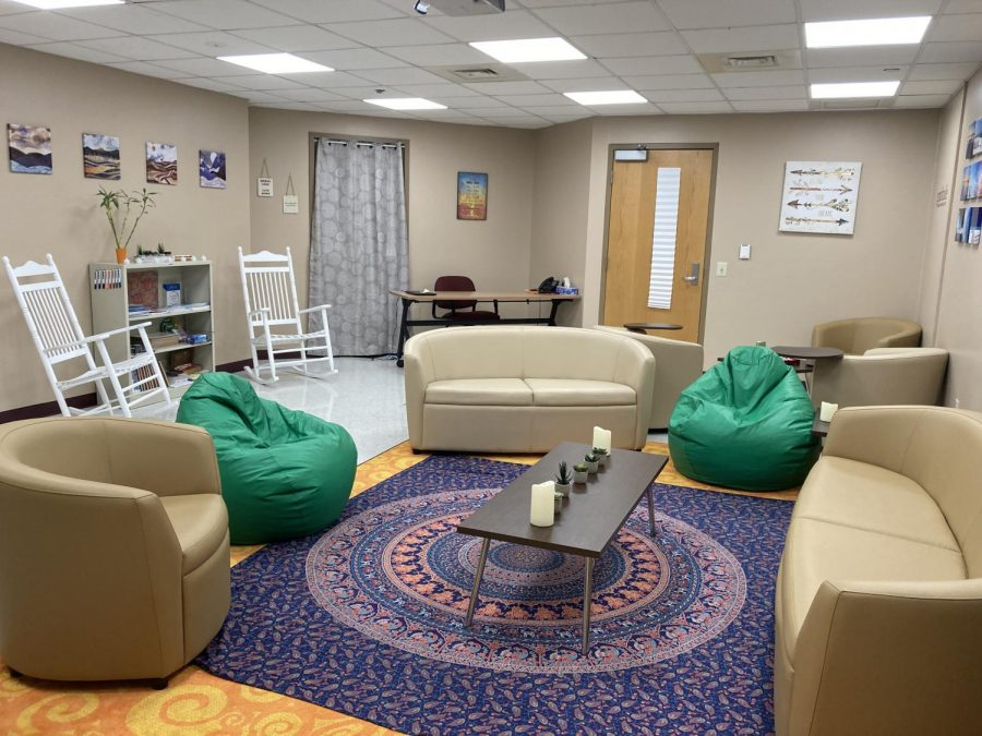 Wellness Room for Mental Health