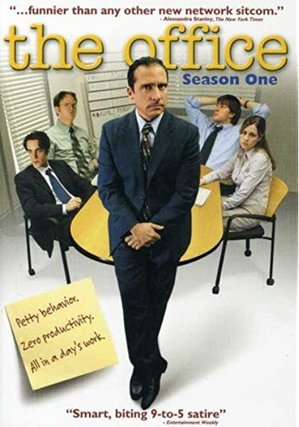 Season 1 DVD Cover of The Office