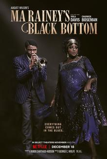 Ma Rainey's Black Bottom official film poster