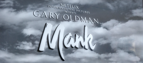 "The title card for ""Mank"" is designed like those of Golden Age Hollywood movies."