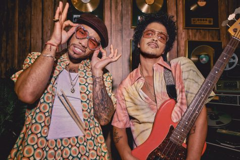Anderson Paak (Left) and Bruno Mars (Right)